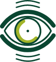 Eye swelling icon showing thick eye lids
